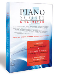 Piano Score Unlimited, DVD