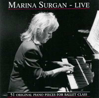 Marina Surgan Live -  51 Original Piano Pieces for Barre & Center