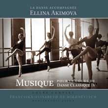 Musique pour le cours de danse classique iv collection for Cours de danse classique pour adulte