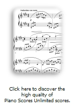 Download Piano Scores Unlimited Demo Version